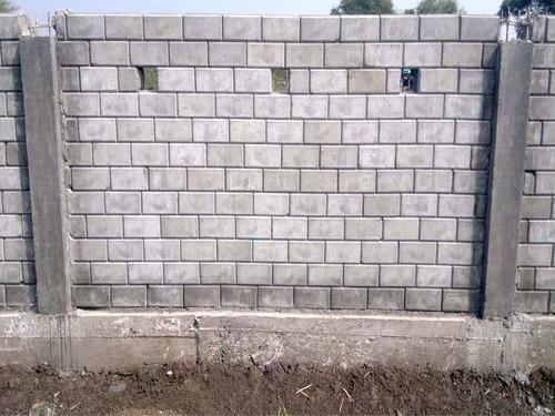 Readymade Boundary Brick Wall Boundary Wall 5 Feet