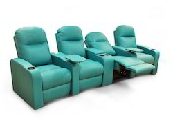 Green Little Nap Recliners Motorised Home Theater Recliner