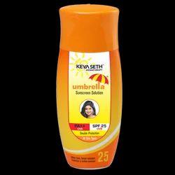 Umbrella Sunscreen SPF 25 Solution 100 mL