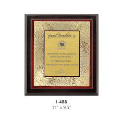 Wooden Certificate Trophies