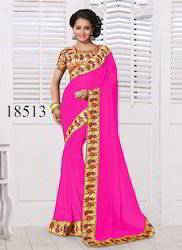 Lace Embroidered Saree