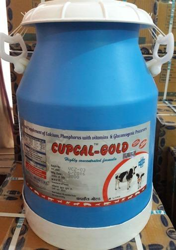 Calcium Feed Supplements Ionic Calcium Gel Veterinary Manufacturer From Chandigarh