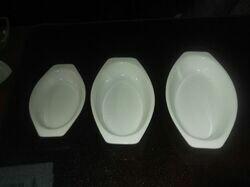 Acrylic Oval Dish