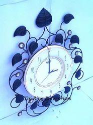 Leaf Style Wall Clock