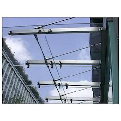 Transparent Glass Canopy