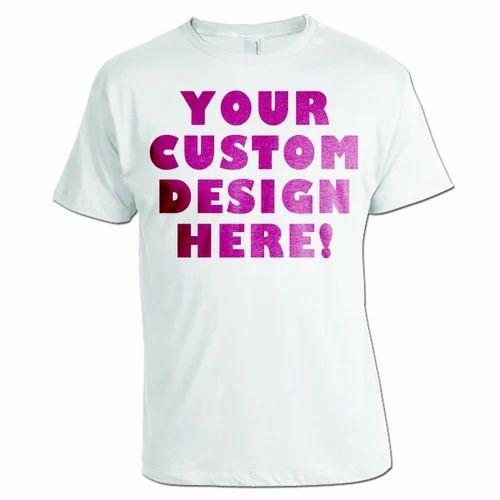 4630815e06 Mens Customized T-Shirts at Rs 60 /piece | Custom T Shirt | ID ...