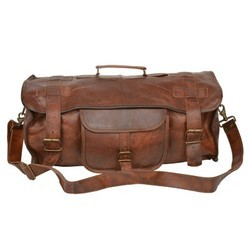 Genuine Leather Traveling Luggage Bag LUGG105