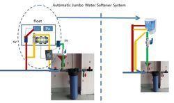 automatic whole house jumbo water softener