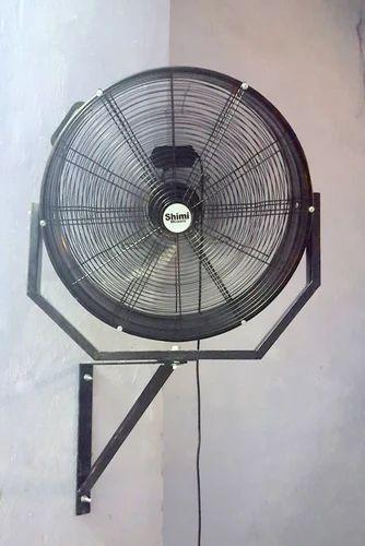 Steel 24 Inch Drum Wall Mounting Fan Rs 11000 Unit