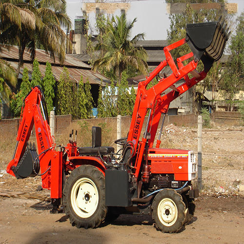 Mini Tractor Backhoe Loader, Essey Engineering Company | ID: 8562411997