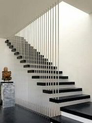 Wire Suspended Staircase