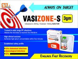 Injection Cefoperazone 2 gm  Sulbactam 1 gm 1x1 Tray Pack