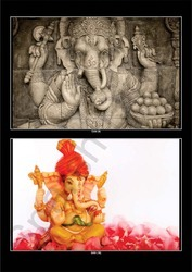 Lord Ganesha''s 3D Wallpaper