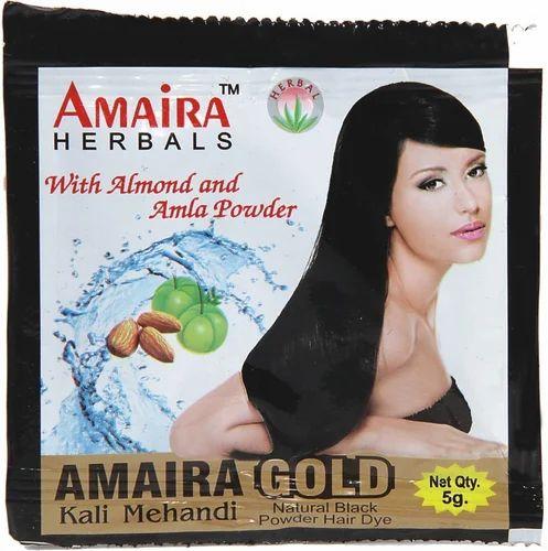 18a6532a1 Amaira Gold Kali Mehandi, Usage: Personal, Parlour, Rs 4 /piece   ID ...