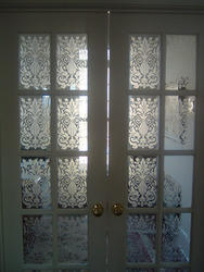UPVC,Glass French Glass Door, For Home, Size/Dimension: 6 X 4 Feet