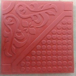 Red & Yellow Floor Tiles, Size: Medium