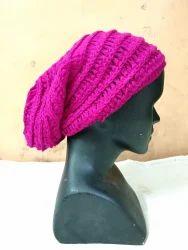 Hand knitt Woolen Cap, Autom Winter