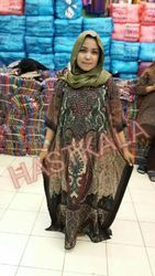 Rayon Printed Ladies Kaftan