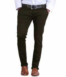 Cotton/Linen Mens Casual Trouser