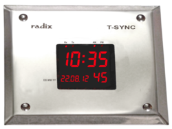 Clean Rooms Digital Clock