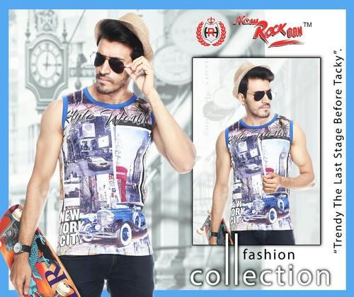 cc117d8e Cotton Round Mens Sleeveless T Shirts, Rs 105 /piece, Paul Trading ...