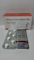 Azithromycin-250 mg & Lactic Acid Bacillus