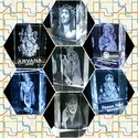 100 X 60 X60 Mm Whitr Religious Crystal Cubes