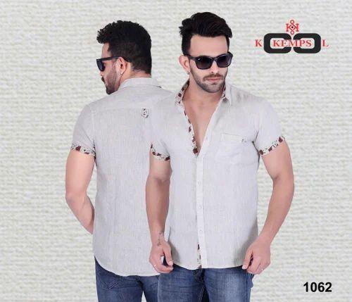 d20159dd7 Mens Linen Half Sleeve Shirt at Rs 800 /piece(s) | Half Sleeve ...
