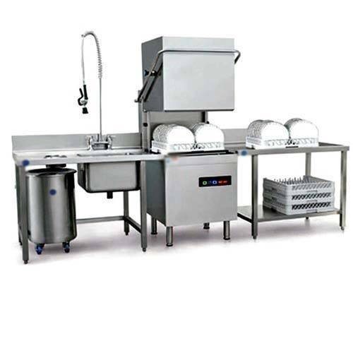 Commercial Dishwashing Layout Google Search: Industrial Dishwasher Machine, Capacity: 60-90 Rack Per Hour, Rs 180000 /unit
