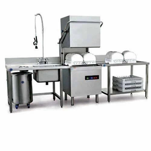 Industrial Kitchen Brands: Industrial Dishwasher Machine, Capacity: 60-90 Rack Per