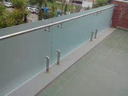 Balcony Glass Railing System