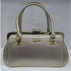 Designer Metal Frame Handbag