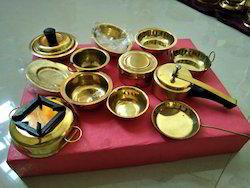 Dinner Set Children Decorative Brass