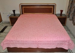 Applique Kantha Bed Cover Indian Cut Work Kantha Quilt