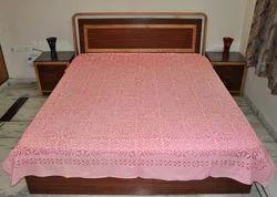 Applique Kantha Bed Cover Indian Cut Work Kantha Quilt