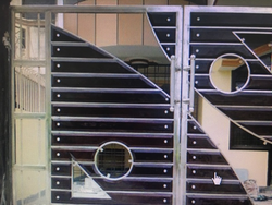 Designer Stainless Steel Gate In Ludhiana डजइनर