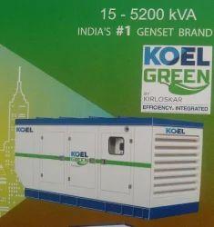 Kirloskar Green SILENT DGSET 62.5kva, 87 Amps 3ph