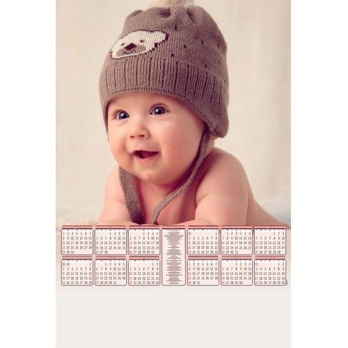 Cute Baby Calendar At Rs 18 Piece Rabindra Sarani Kolkata ID