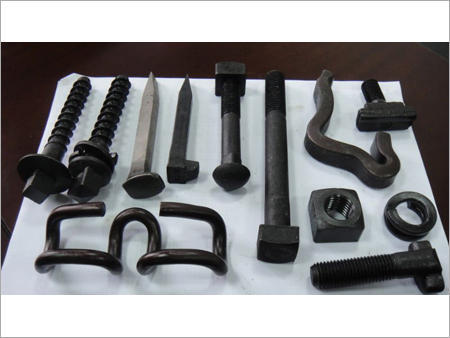 Rails & Fittings - Rail Track Fittings Manufacturer from Mumbai