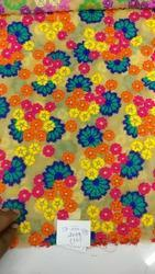 Muliti Colors Georgette Fabric