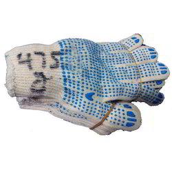 Shashi India Unisex Poly Cotton Dotted Gloves