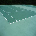 Green Pvc Synthetic Badminton Courts Flooring, For Outdoor