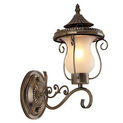 Stello Metal Brass Antique Wall Lamp for Home