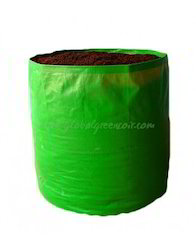 Green/Orange Round Grow Bag Large, Size: 18 X 18, for Agriculture