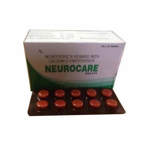 Neurotropic B Vitamins Calcium Pantothenate Carnation Pharmatech