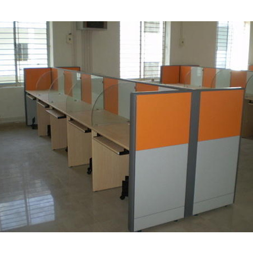 Aluminium Modular Kitchen At Rs 1100 Square Feet: Modular Office Partition Manufacturer