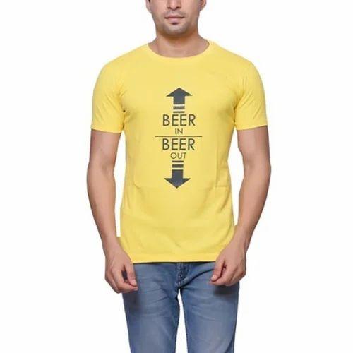 595325b2 Men Funny Printing T-Shirts Half Sleeve at Rs 260 /piece | Mens ...