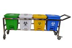Waste Segregation Trolley