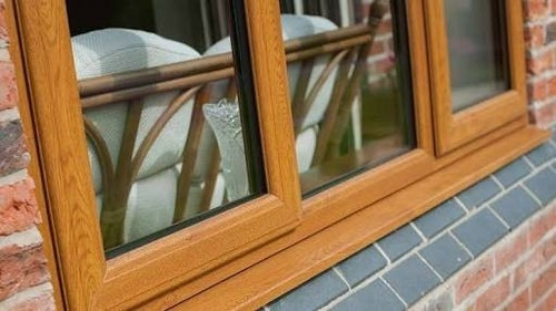 Wood Finish Upvc Windows At Rs 800 Foot Triplicane