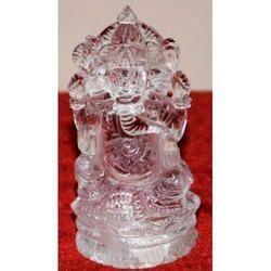 Ganesh Murthi Of Natural Sphatik